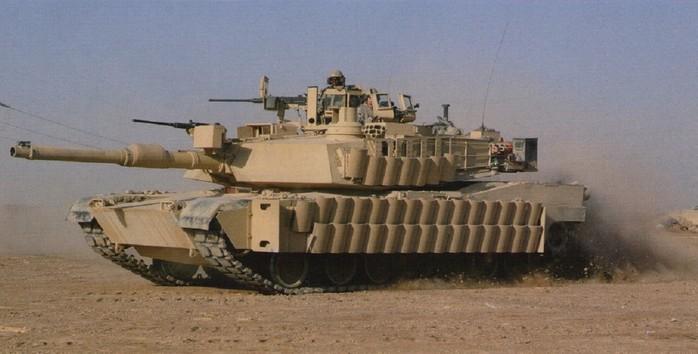 TUSK с комплексом ДЗ ARAT-2 на танке М1А2 'Абрамс'