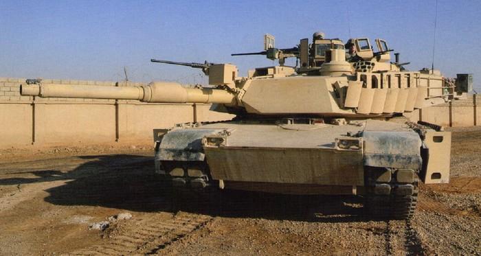 Американский танк М1А2 'Абрамс'