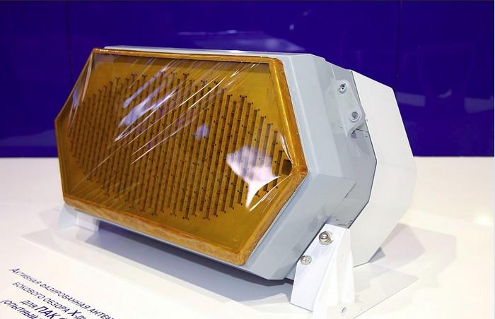 АФАР радар N036B-1-01 созданный на технологии LTCC примененной и для радаров Т-14