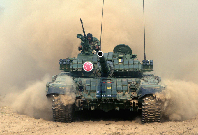 Т-72C ВС Индии
