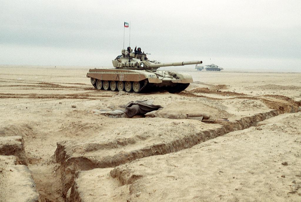 Кувейтский танк M-84, операция «Буря в пустыне»