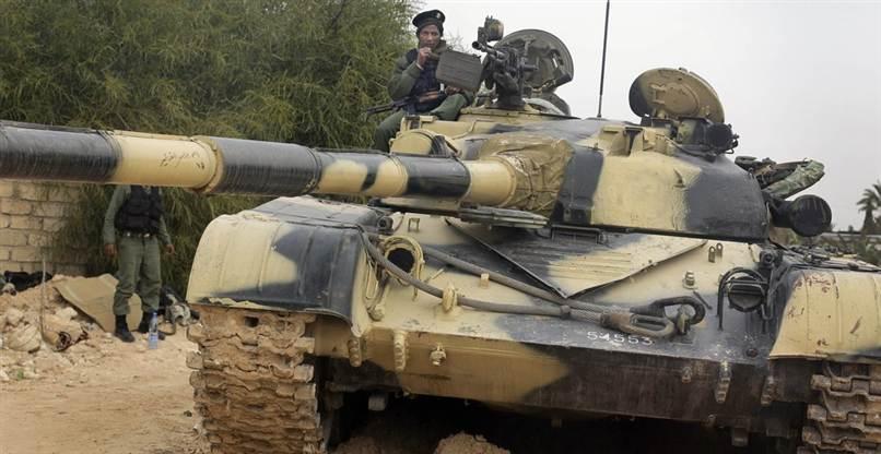 Ливийский танк Т-72А