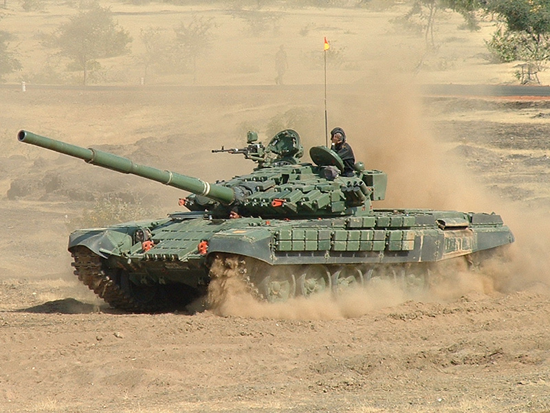 Индийский Т-72М