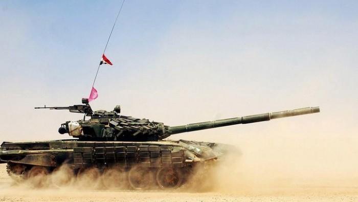Т-72АВ вооруженных сил Сирии