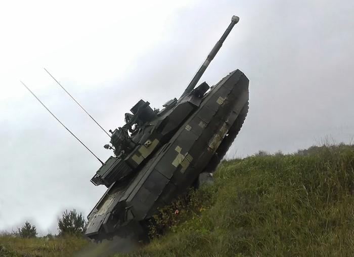Т-84У «Оплот» - основной боевой танк Украины