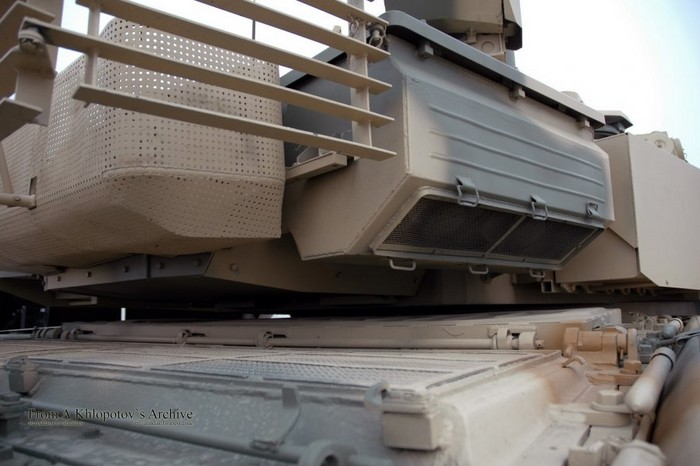 Защита танка Т-90МС