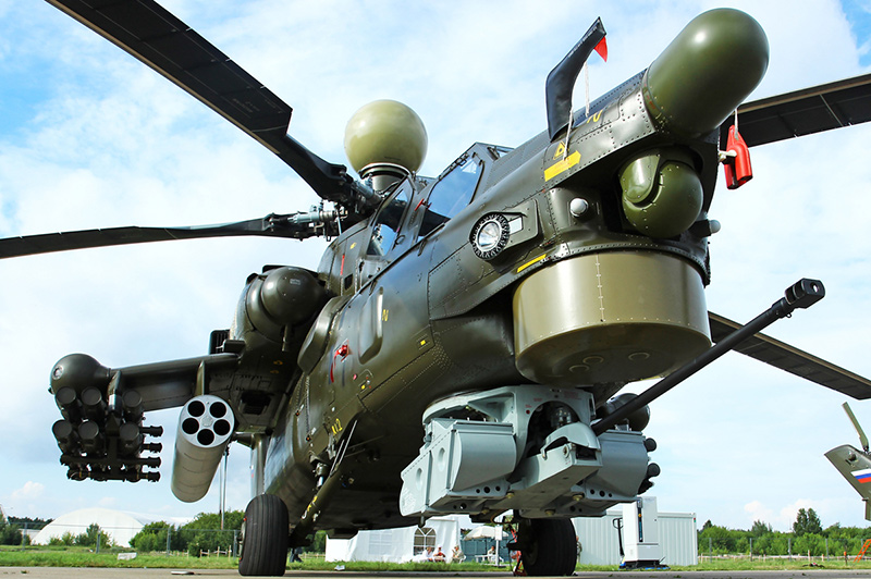 Ми-28Н 'Ночной охотник' - ударный вертолет