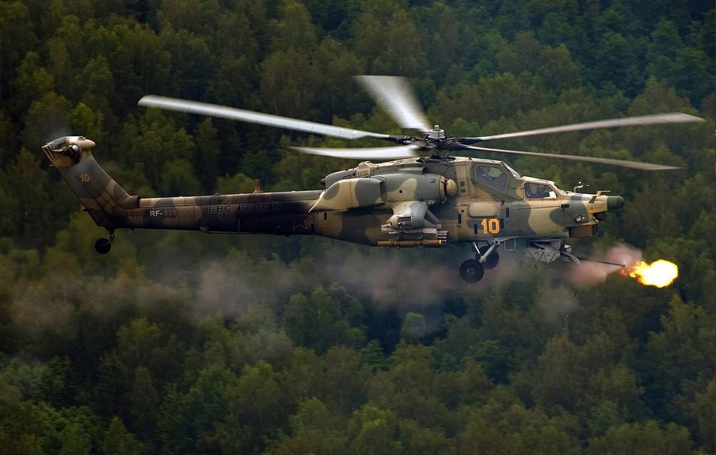 Ми-28Н 'Ночной охотник' - российский ударный вертолет