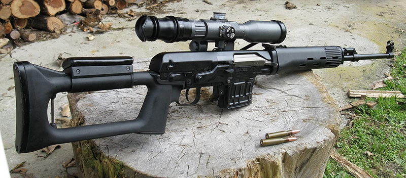 СВД - снайперская винтовка Драгунова 7,62-мм