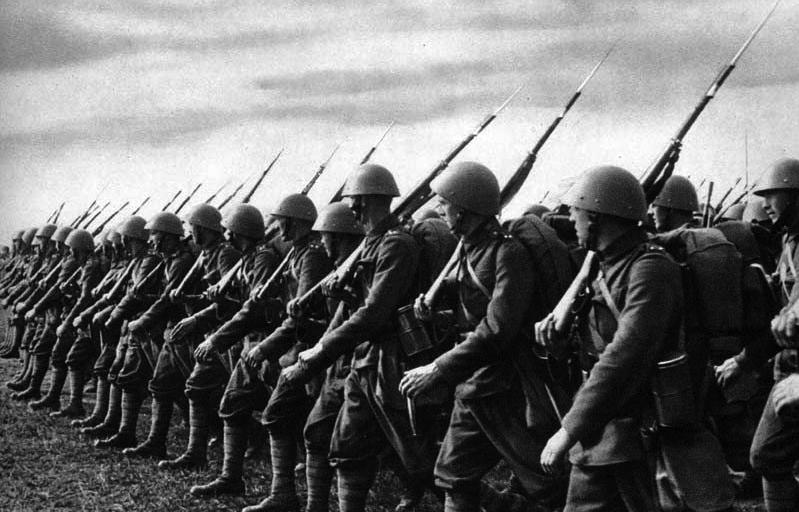 Солдаты Чехословацких вооружённых сил с Vz. 24