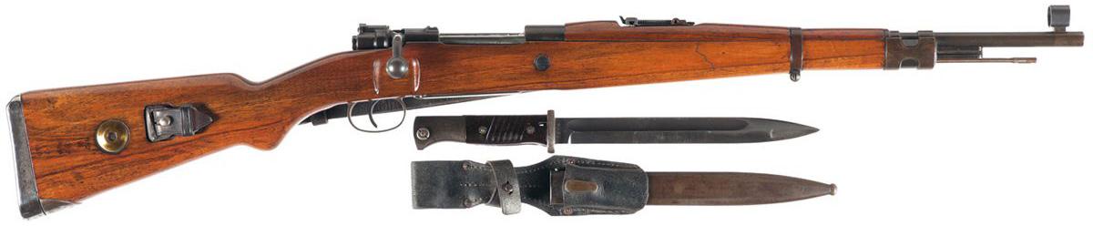 Карабин Vz. 33 и штык для него, вид справа