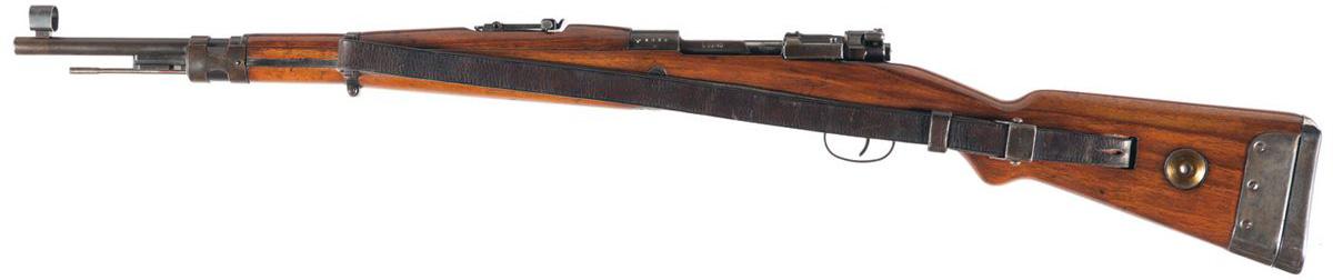 Карабин Vz. 33, вид слева