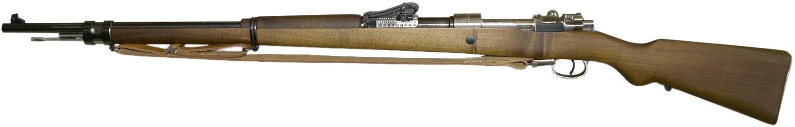 Винтовка Mauser Gewehr 98, вид слева