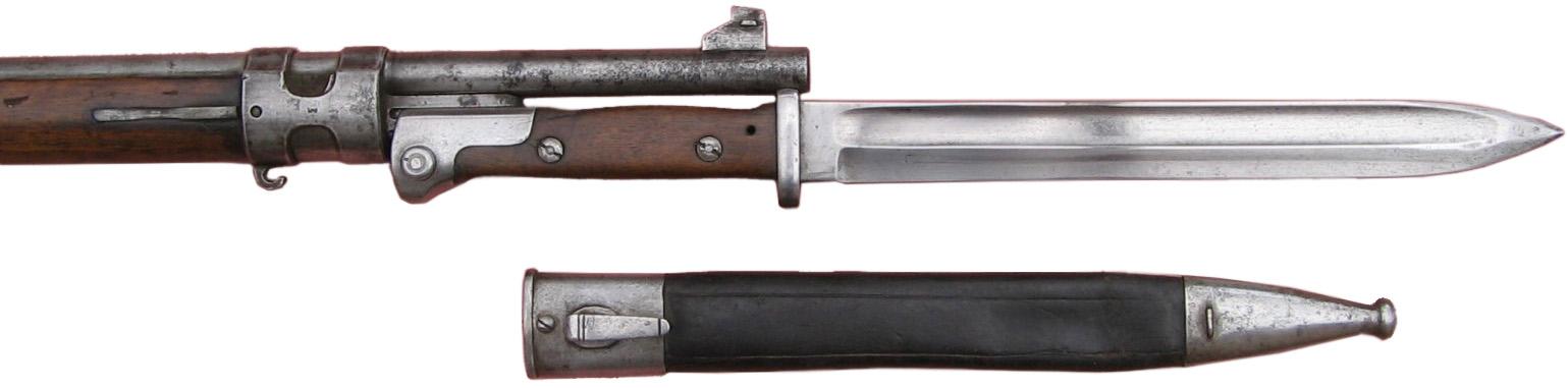Штык SG 84/98 c ножнами