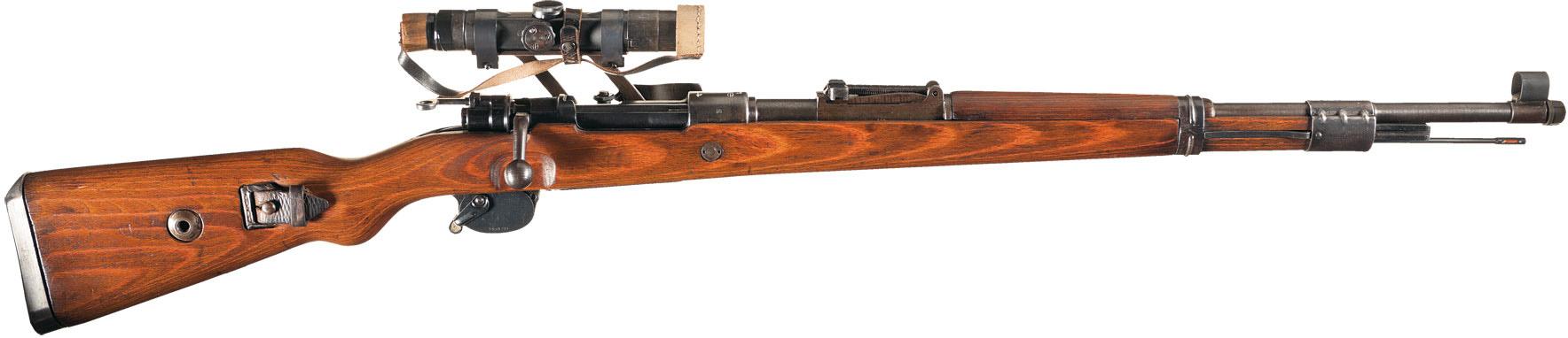 Снайперский Karabiner 98k с прицелом ZF4 и зимним спусковым крючком