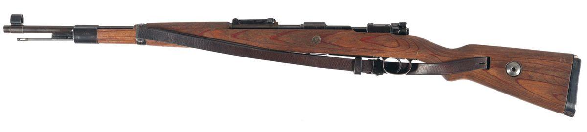 Karabiner 98k выпущеный в 1942 году, вид слева