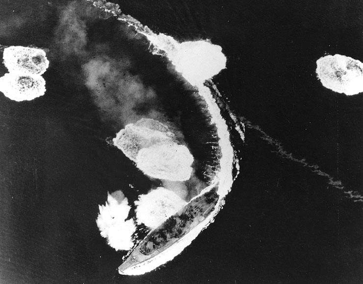 Японский линкор 'Ямато' - самый большой в мире