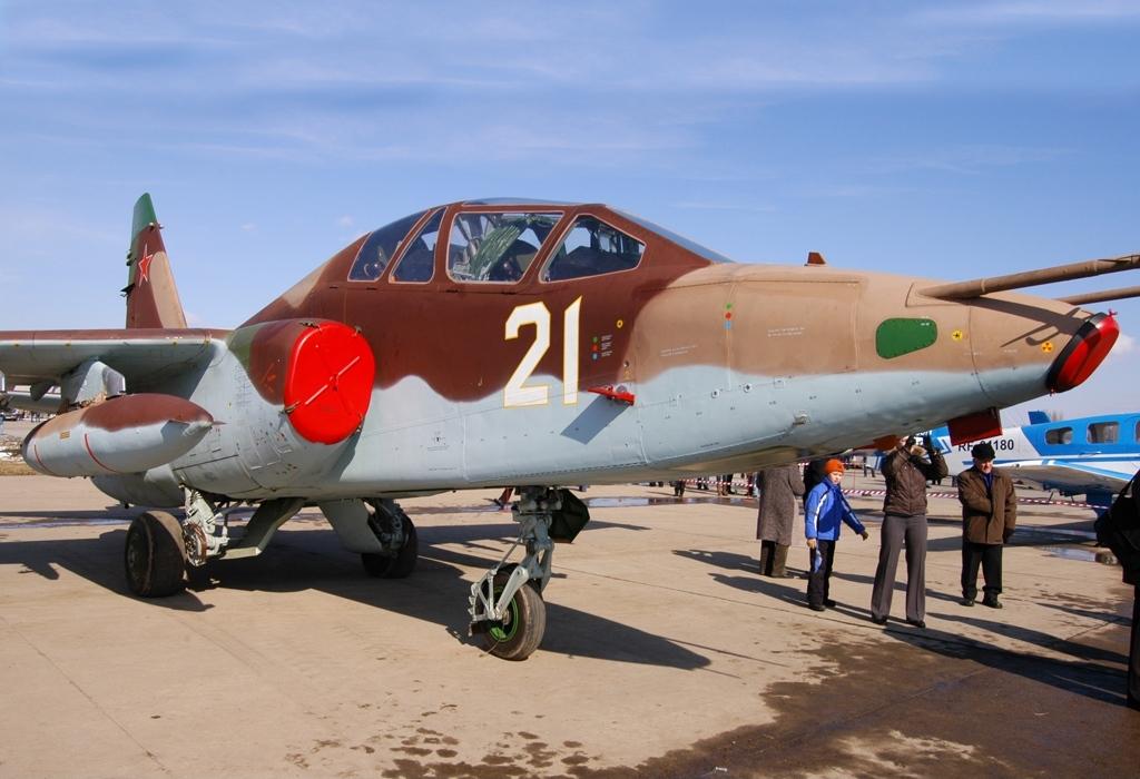 Су-25УБМ в Кубинке