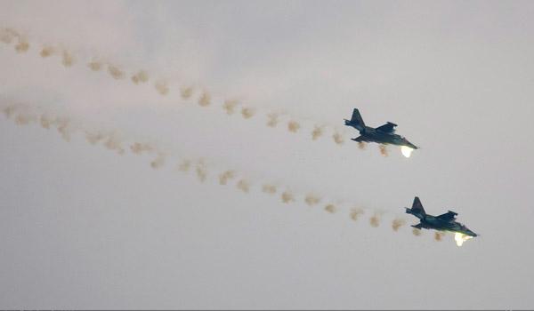 Су-25 фото боевого применения