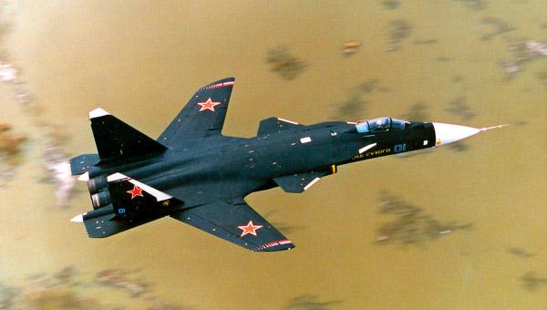 Российский истребитель Су-47 Беркут или С-37 Беркут