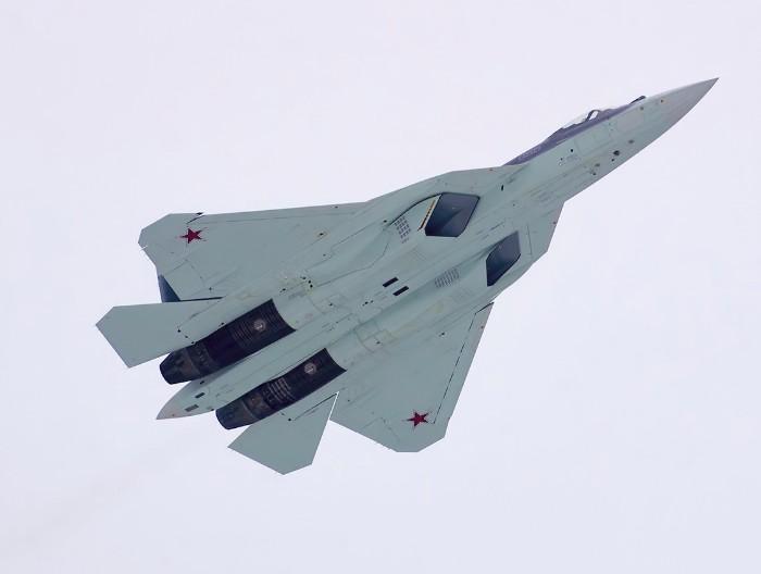 Су-57 (ПАК ФА Т-50) - истребитель пятого поколения