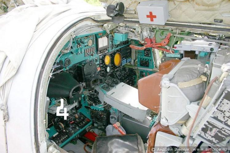 Кабина штурманов Ту-22