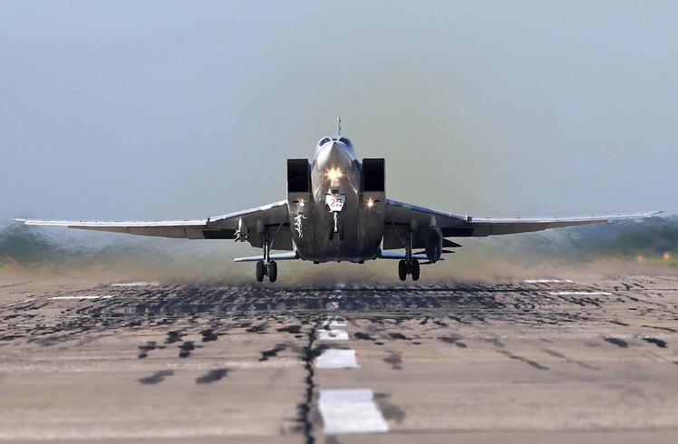 Посадка Ту-22М