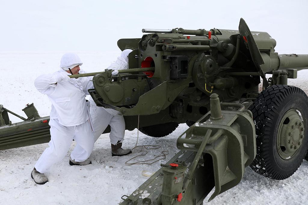 2А36 «Гиацинт-Б» - буксируемая пушка калибр 152-мм