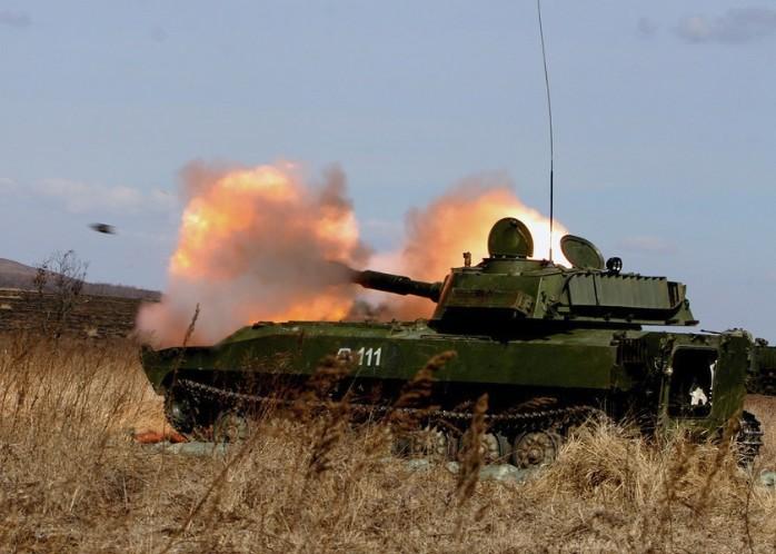 2С1 «Гвоздика» - 122-мм самоходная гаубица