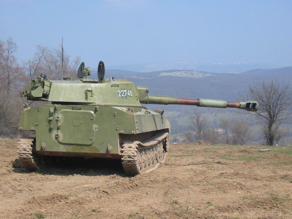 САУ 2С1 «Гвоздика» - самоходная гаубица калибр 122-мм