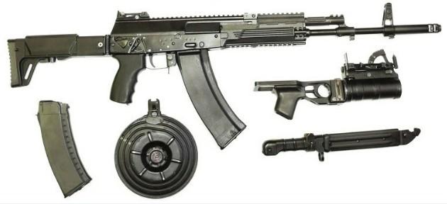 АК-12 - автомат Калашникова пятого поколения