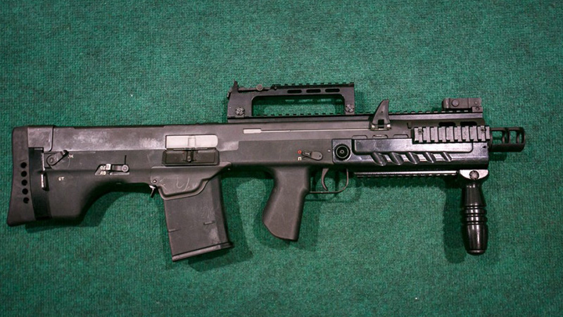 АШ-12 - крупнокалиберный автомат калибр 12,7-мм