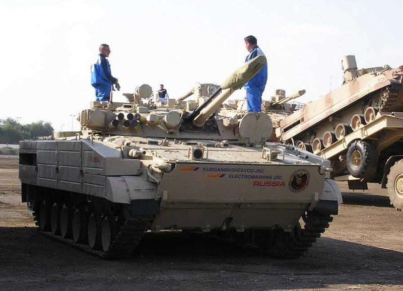БМП-3 c КОЭП «Штора-1»