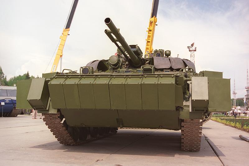 БМП-3 с ДЗ «Кактус»