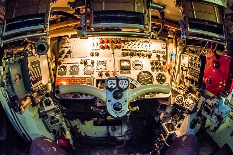 Внутри БМП-3