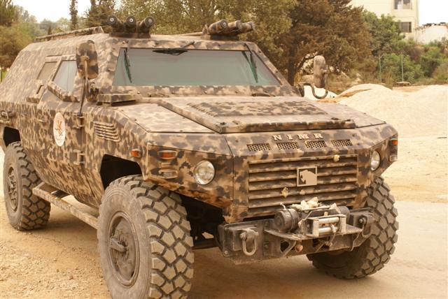 NIMR II 4x4 ливанской армии производства ОАЭ, аналог российского ГАЗ-2330 «Тигр»