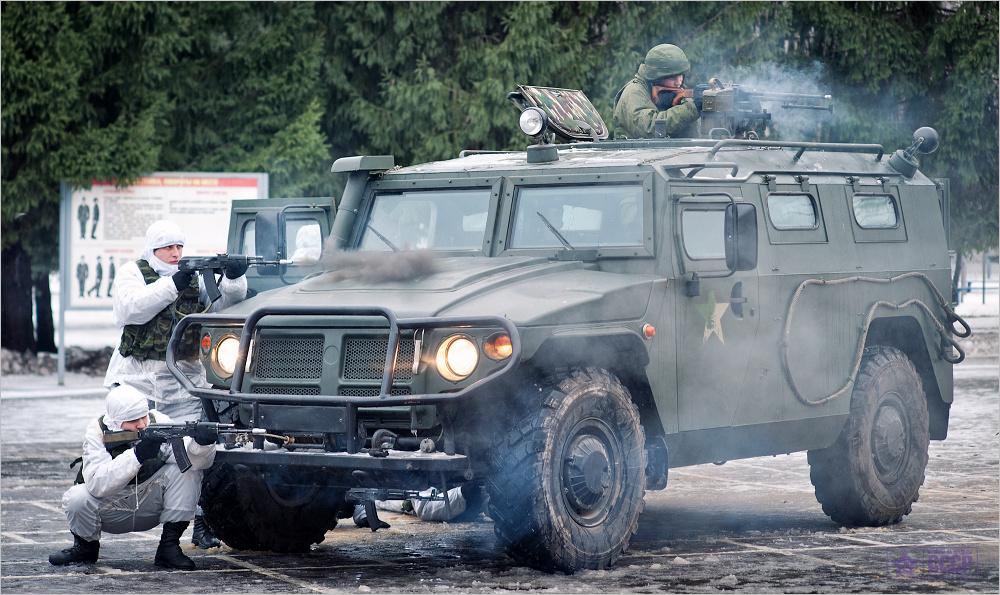 Тигр - российский бронеавтомобиль