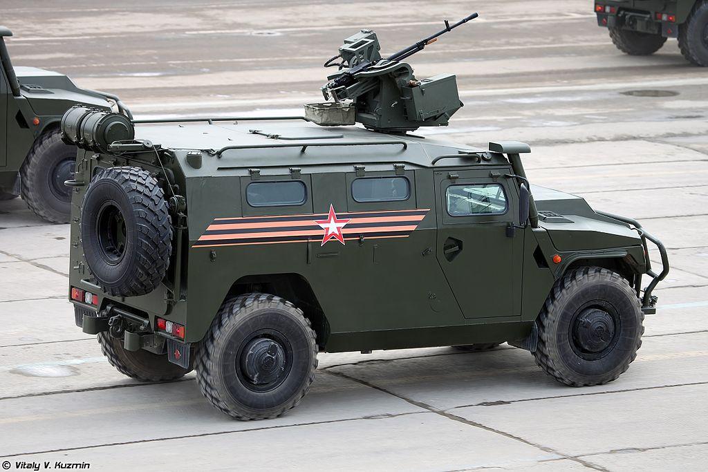 АМН 233114 Тигр-М с дистанционно управляемым боевым модулем Арбалет-ДМ