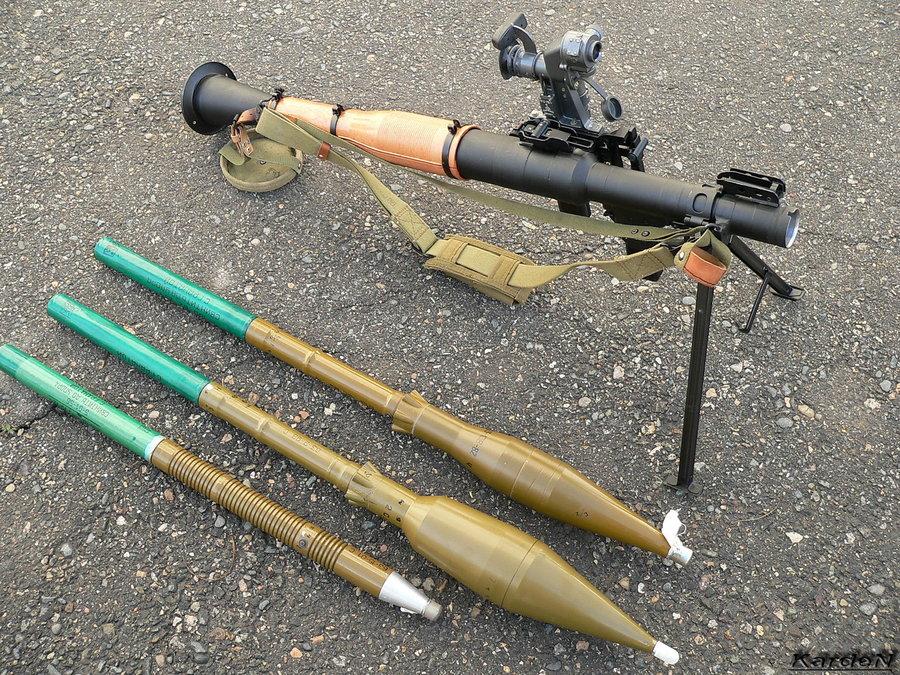 РПГ-7 - ручной противотанковый гранатомет