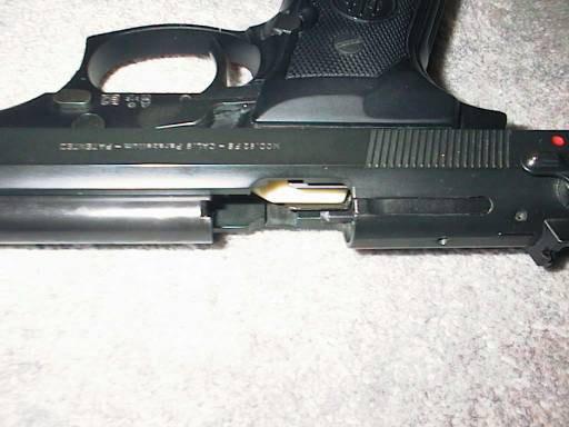 Пистолет Беретта 92 (S, SB, SBC, SBS, SBF) - 9 мм