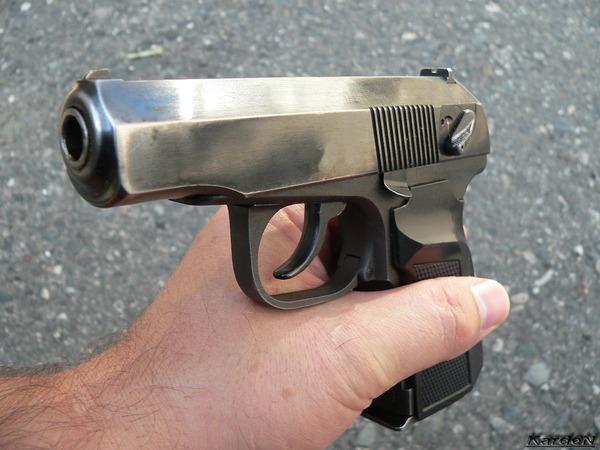 ПММ - пистолет Макарова модернизированный калибр 9-мм