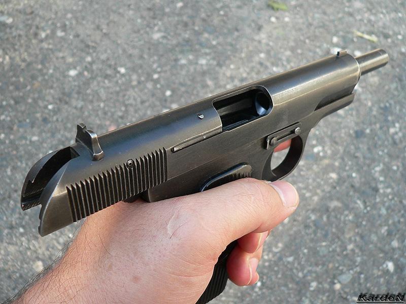 ТТ - пистолет Токарева калибр 7,62-мм
