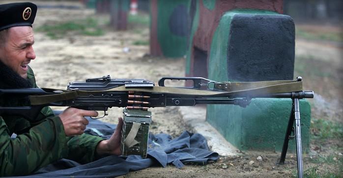 ПКП 'Печенег' - российский пулемет калибр 7,62-мм
