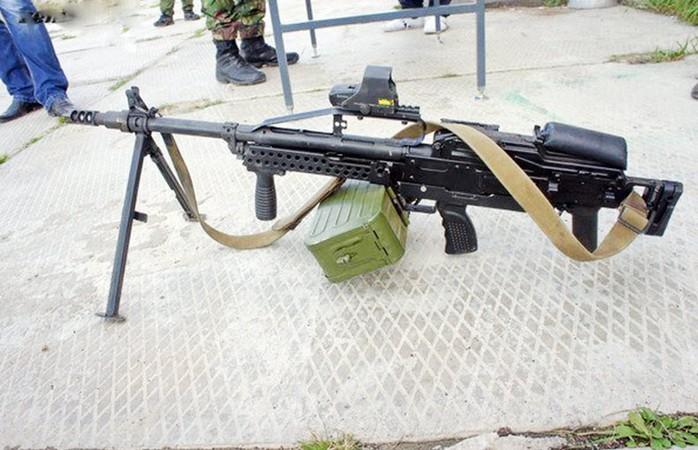 Пулемет ПКП 'Печенег' Булл-пап