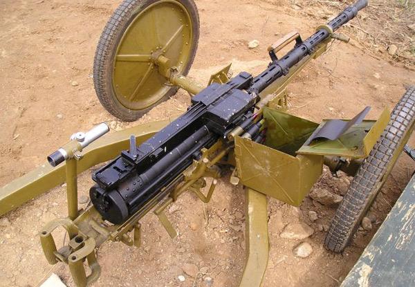 Крупнокалиберный пехотный пулемет Владимирова ПКП