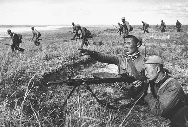 ДП-27 - ручной пулемет Дегтярева