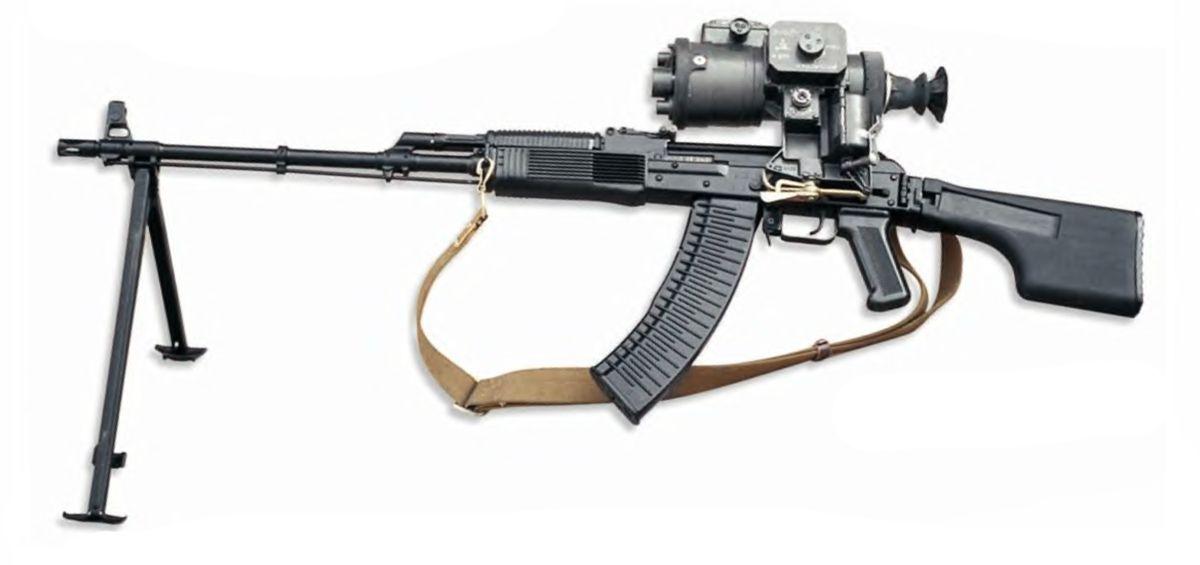 РПК-74 - ручной пулемет Калашникова 5,45-мм