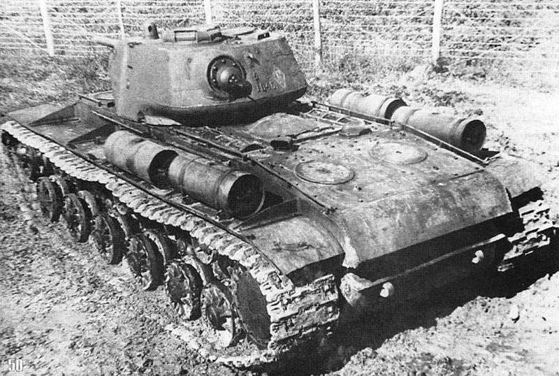 КВ-1 - советский тяжелый танк