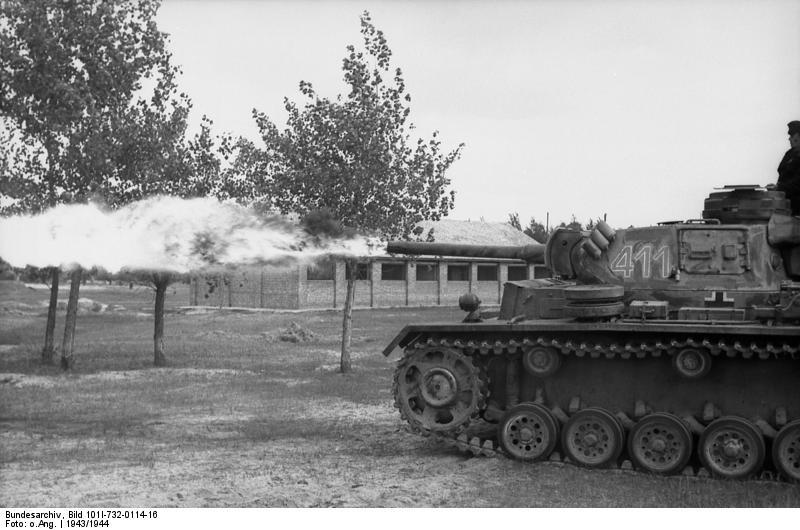 Flammpanzer III (Sd.Kfz. 141/3), Восточный фронт 1943/1944 годы.