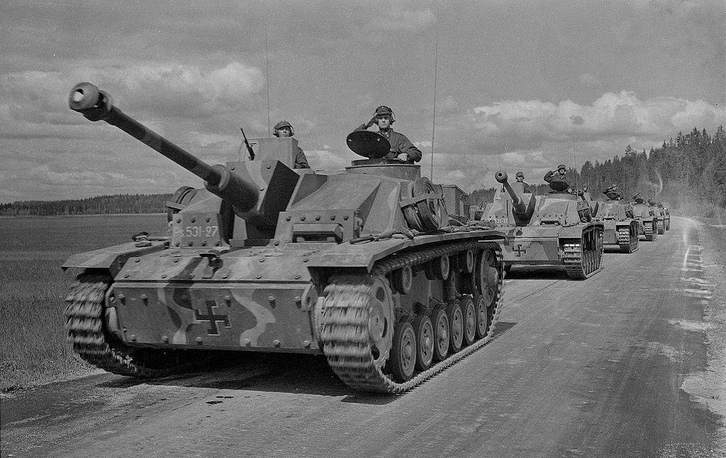 StuG III Ausf. G Финской танковой дивизии